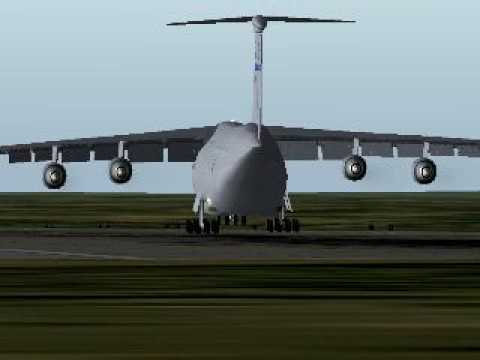Lockheed C-5B Galaxy lands on Russian...