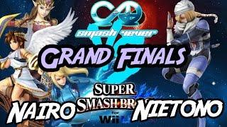 Smash 4-Ever 10 GFs – DtN  Nietono (Sheik) vs Nairo (ZSS/Pit/Zelda)