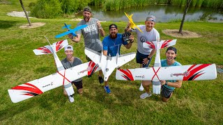 Video RC Airplane Battle | Dude Perfect MP3, 3GP, MP4, WEBM, AVI, FLV Juli 2019