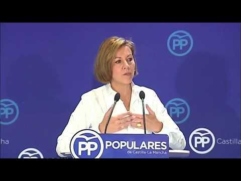 Cospedal a Sánchez le da igual pactar con C's, Bildu, ERC o Podemos