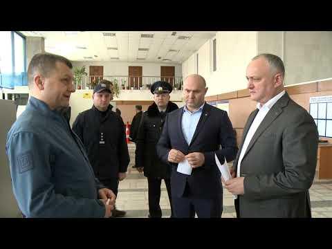 """Șeful statului a vizitat punctul de trecere a frontierei """"Leușeni"""""""