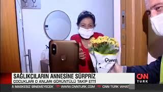 Sağlık Çalışanı Annesine Anneler Günü Sürprizi - Cnn Türk Canlı Yayını