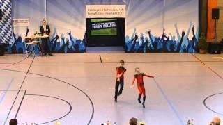 Eileen Rolshausen & Daniel Kozachyshen - Nordbayerische Meisterschaft 2015