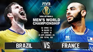 Video Brazil vs. France | Highlights | Mens World Championship 2018 MP3, 3GP, MP4, WEBM, AVI, FLV September 2018