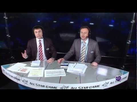 КХЛ Матч Звезд 2013 День первый / KHL All-Star Game 2013 Day 1 (видео)