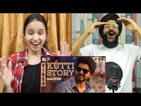 Master - Kutti Story Video Song Reaction | Thalapathy Vijay | Anirudh Ravichander