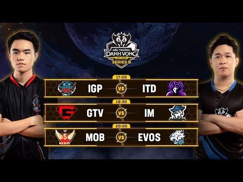 Trực tiếp MOB vs EVOS - Vòng 1 - Đấu Trường Danh Vọng Series B Mùa 1 - Thời lượng: 5:33:30.