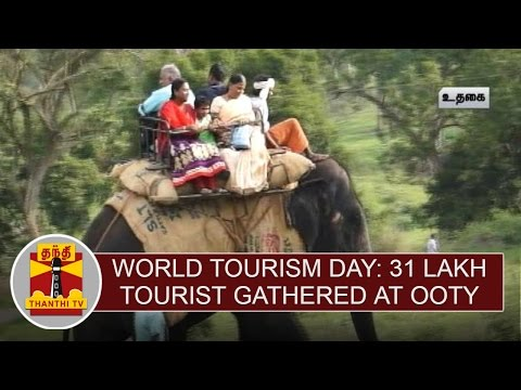 World-Tourism-Day-31-Lakh-Tourist-Gathered-at-Ooty-Thanthi-TV