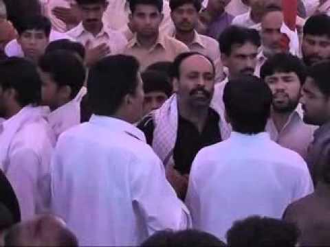 16  rajab 2012 at gahi chakwal Ustad Hussnain Fazal DI Khan (JHUL ZARAB SHAKEE DE )