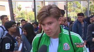 Jóvenes indignados protestan en Los Ángeles- Noticias 62 - Thumbnail