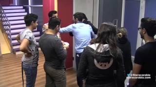 star academy 11 لحظة رجوع حنان الخضر الى الاكاديمية من رحلة فرنسا 14/12/2015