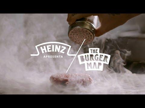 Heinz apresenta The Burger Map (видео)