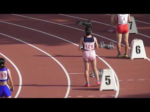 女子4×100mR_決勝_第48回北海道中学校陸上20170730