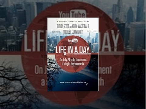user generated movie - Life In A Day is a historic global experiment to create the world's largest user-generated feature film: a documentary, shot in a single day, by you. On July...