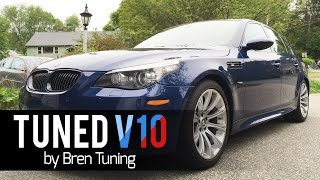 TUNED e60 BMW M5 V10 by Bren Tuning: Next Mod for my M6? by DoctaM3's Supercars Personified