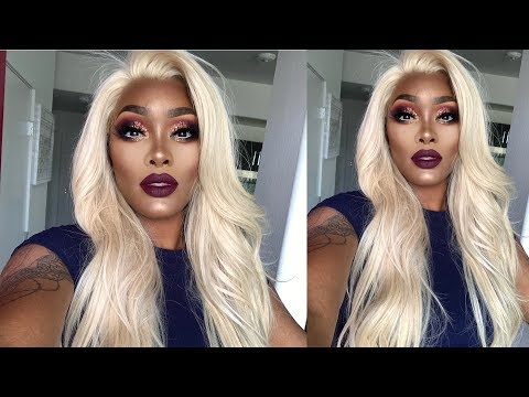 PLUM BOMBSHELL | BLACK BARBIE GLAM | HUDABEAUTY TANTOUR REVIEW