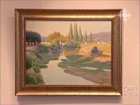 Exhibition of French-Armenian painters in Arame Art Gallery in in Shoghakat TV