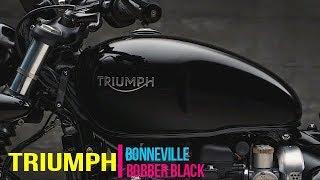 9. 2018 ALL NEW BONNEVILLE BOBBER BLACK (meaner and stronger)