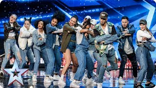 Empire Dance Crew perform Little Mix dance tribute | Auditions Week 7 | Britain's Got Talent 2017 Video