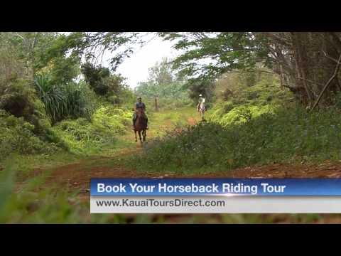 Kauai Horseback Riding Adventure with Esprit De Corps