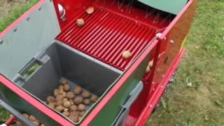 Feucht Germany  City new picture : Máquinas cosechadoras OB 50 y OB 70 / Frutas fresca, Nueces, Avellanas / Feucht Germany