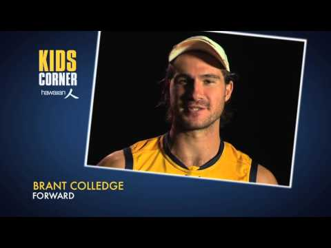 Hawaiian Kids Corner - What inspired Colledge to play footy? on YouTube