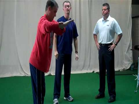 Golf Instruction – GURU TV- The Flying Right Elbow- Fitness Episode #3