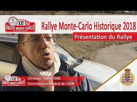 Présentation du Rallye - RMCH 2018