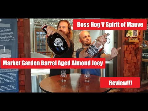 Ep 21: WhistlePig Boss Hog V and Market Garden Barrel Aged Almond Joey Whiskey And BeerReview