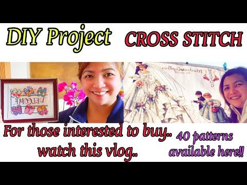 DIY Cross Stitch// Cross Stitch