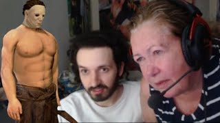 My mom's hot takes on DBD killers (REAL) (PAID ACTORS) (HD 240p)