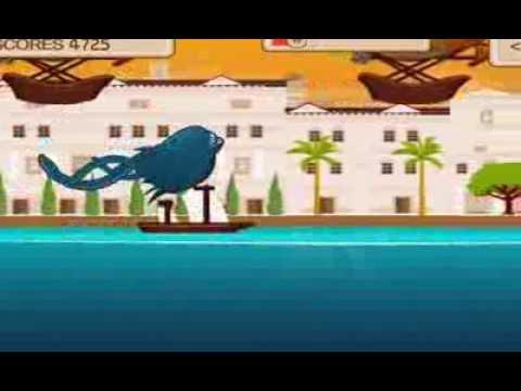 Video of Kraken Attack