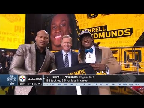 Video: Ryan Shazier Announces the Steelers 2018 1st Rd. Draft Pick | NFL