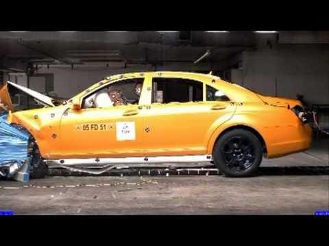 Mercedes-Benz S-class 2010 Mercedes S-Class CRASH TEST