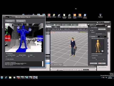 iClone 5 Tutorial – Creating Custom Motion Capture