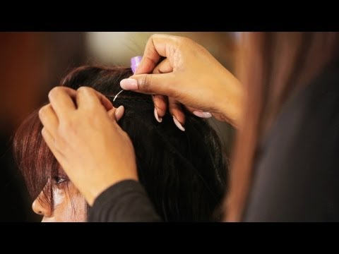 Quick Weave Tutorial: How to Apply Hair Tracks | Black Hairstyles