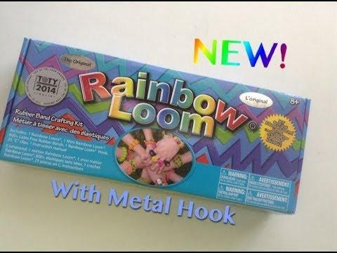 NEW Rainbow Loom Kit With Metal Hook