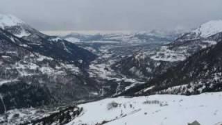 Marche dans la neige, Orcières - Merlette
