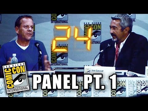 sutherland - Part 2 ▻▻ http://youtu.be/vVfDhEatyvk More Celebrity News ▻▻ http://bit.ly/SubClevverNews Kiefer Sutherland takes the stage for 2014 San Diego Comic Con and talks all about the upcoming...