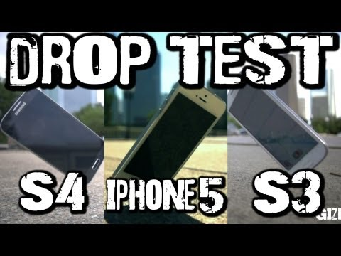 vs drop test - This week we wanted to put the Corning Gorilla Glass 3 to the test on Samsung's new Galaxy S4 phone. We also compared it to previous drop tests with the Gala...