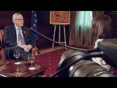 Γιούνκερ στο euronews: Ναι στην ένταξη των Δυτικών Βαλκανίων, αλλά υπό προϋποθέσεις…