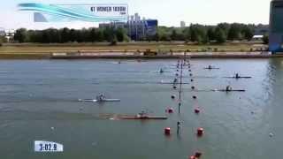 2014 Moscow K1 1000 M  Women Canoe Sprint World Championships