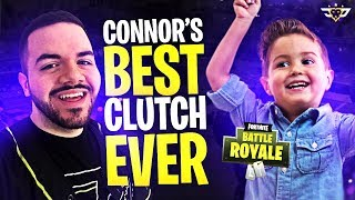 CONNOR AND COURAGE RETURN! CONNOR'S BEST CLUTCH EVER! (Fortnite: Battle Royale)