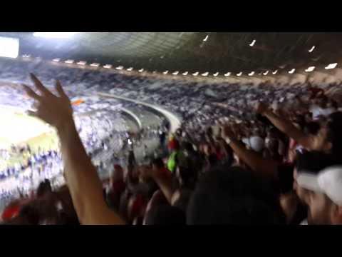 Video - Cruzeiro 0 River 3 Hinchada Argentina Libertadores 2015 - Los Borrachos del Tablón - River Plate - Argentina