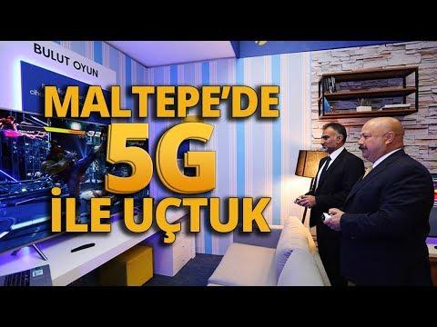 Maltepe'de 5G Hızıyla Uçtuk! Türkiye'de ilk 5G deneyimi!