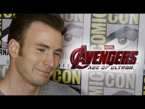 chris - Robert Downey Jr Interview ▻ http://youtu.be/epsUyDEepys Subscribe Now! ▻ http://bit.ly/SubClevverMovies Chris Evans talks all things Avengers: Age of Ultron at Comic-Con 2014. For More...