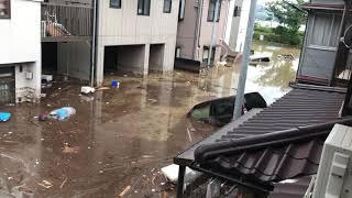 2018.07.07広島安芸郡坂町小屋浦大雨洪水