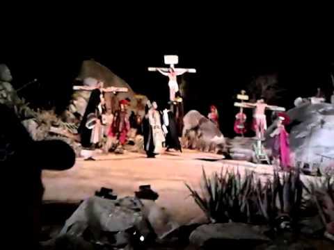 Crucificação de Jesus Cristo em Nova Jerusalem na Paixao de Cristo - Brejo da Madre de Deus - PE