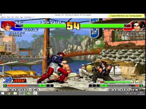 king of fighters 98 psx