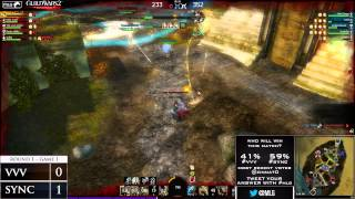 VVV vs Sync - Game 2 - MLG Guild Wars 2 Invitational